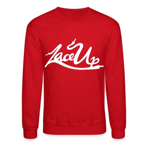 Lace Up Crew Neck - Crewneck Sweatshirt