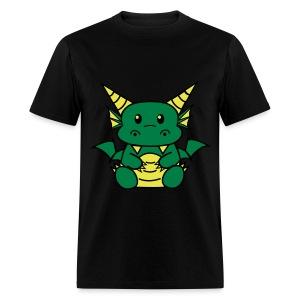 Baby Dragon Shirt (M)  - Men's T-Shirt