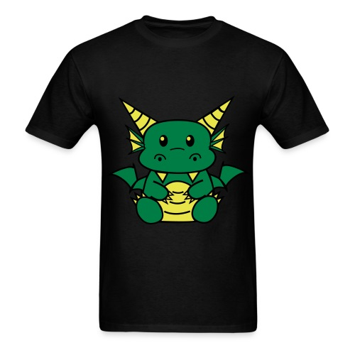 Baby Dragon Shirt (M)  - Men's T-Shirt