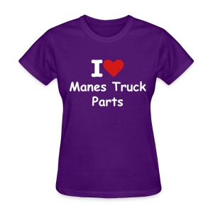 Women's I Heart MTP - Women's T-Shirt