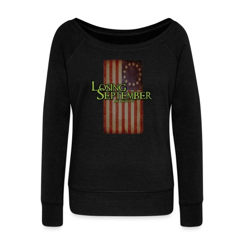 Woman's Wide Neck  - Women's Wideneck Sweatshirt