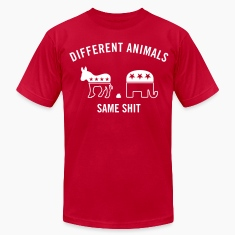 Different Animals Men's Humor T-Shirts