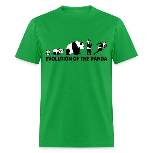 Evolution of the Panda - Men's T-Shirt