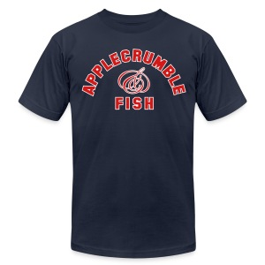 Applecrumble & Fish - Men's T-Shirt by American Apparel