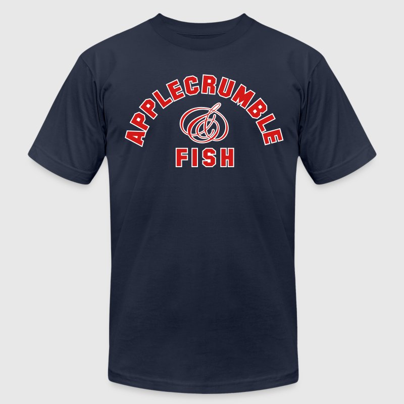 Applecrumble & Fish T-Shirts - Men's T-Shirt by American Apparel