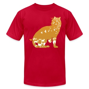 Ocelot (Solid) - Men's T-Shirt by American Apparel