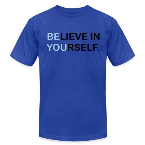 BElieve in YOUrself - Men's Fine Jersey T-Shirt