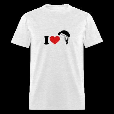 I love Parachute jumping T-Shirts
