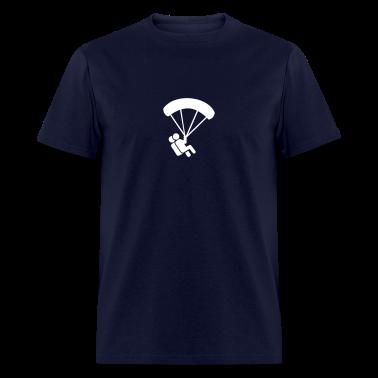 Parachute jumping T-Shirts