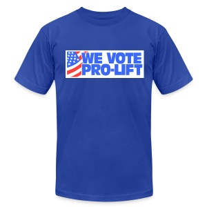 Pro-Lift - Men's T-Shirt by American Apparel
