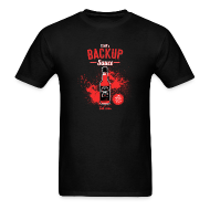T-Shirts ~ Men's T-Shirt ~ Backup Sauce (Gildan) [M]