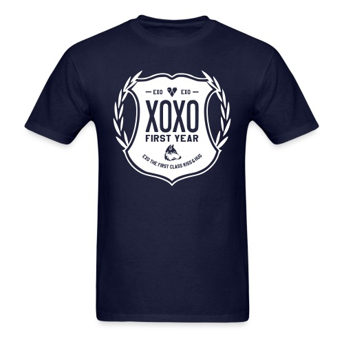 XOXO First Year-Double Sided - Men's T-Shirt