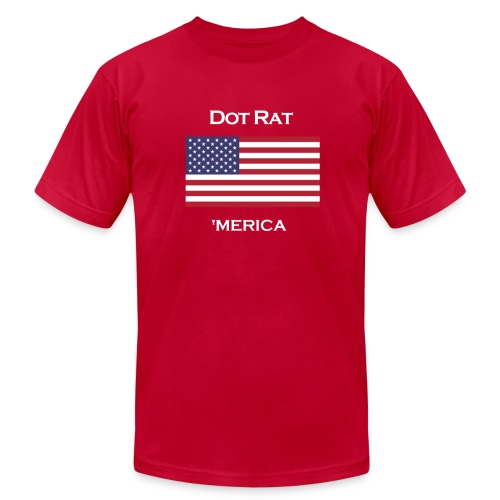 Merica - Men's T - Men's T-Shirt by American Apparel