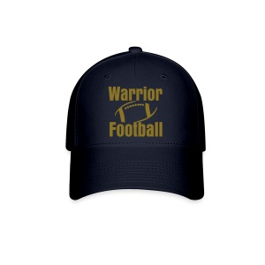 Warrior Football number on back - Baseball Cap