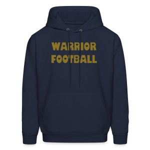 Warrior with cut out hearts - Men's Hoodie