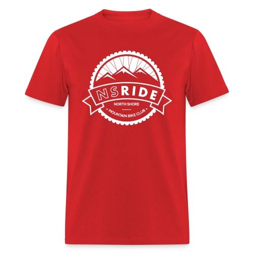 1 Colour White - Men's T-Shirt