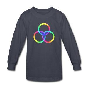 God's Spectrum of Light - Kids' Long Sleeve T-Shirt