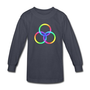 God's Spectrum of Light - Kids' Long Sleeve T-Shirt