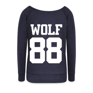 EXO WOLF 88 SWEATER (WOMEN) - Women's Wideneck Sweatshirt