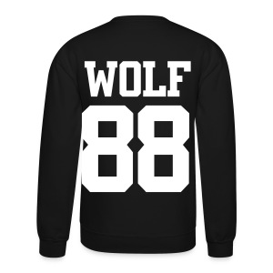 EXO WOLF 88 SWEATER (White) - Crewneck Sweatshirt