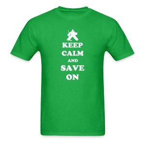 Keep Calm Goalie - Men's T-Shirt