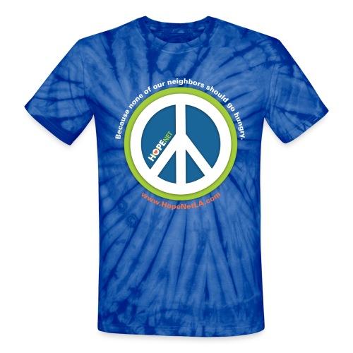 BJE Teen Service Corps Hope-Net Shirt - Unisex Tie Dye T-Shirt