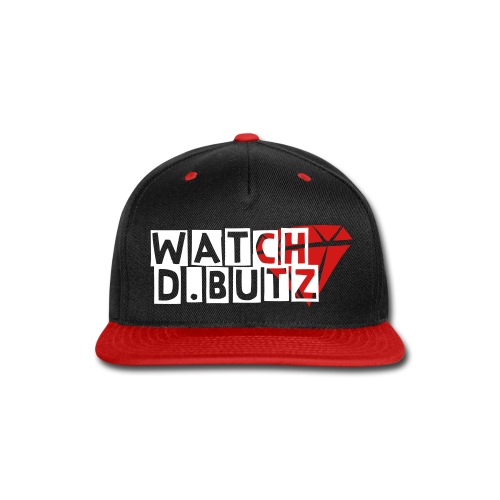 derek butler watch d.butz snapback black and red - Snap-back Baseball Cap