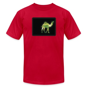 Camel Walk - Men's T-Shirt by American Apparel