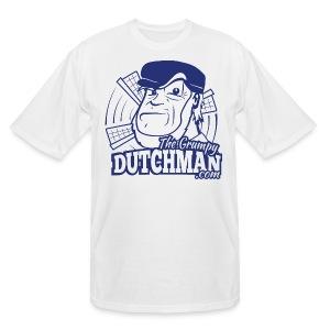 Grumpy Logo (Single Color) - Men's Tall T-Shirt