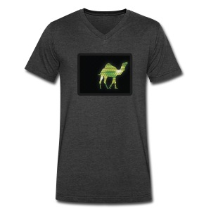 Camel Walk - V-Neck - Men's V-Neck T-Shirt by Canvas