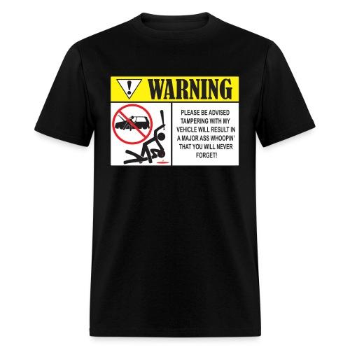 Warning - 2 - Men's T-Shirt