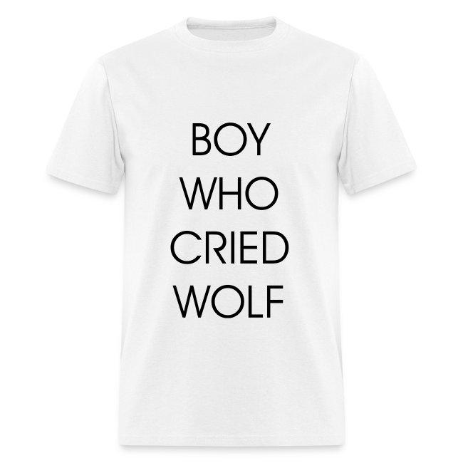 EXO BOY WHO CRIED WOLF (MEN)