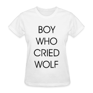 Women's T-Shirts ~ Women's T-Shirt ~ EXO BOY WHO CRIED WOLF