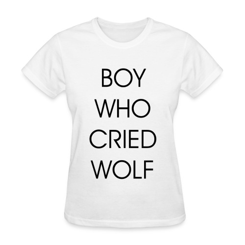EXO BOY WHO CRIED WOLF - Women's T-Shirt