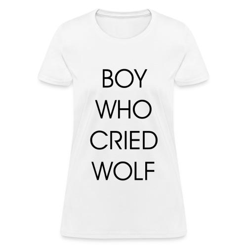 EXO BOY WHO CRIED WOLF - Women's T-Shirt