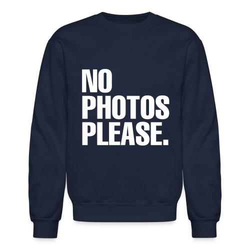 NO PHOTOS PLEASE. SWEATER - Crewneck Sweatshirt