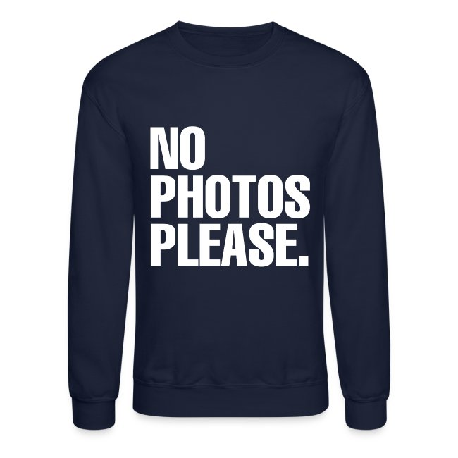NO PHOTOS PLEASE. SWEATER