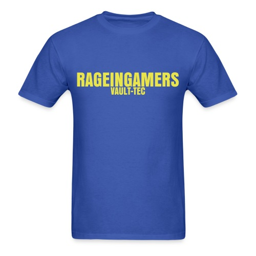 (MALE) VAULT-TEC RAGEINGAMERS - Men's T-Shirt