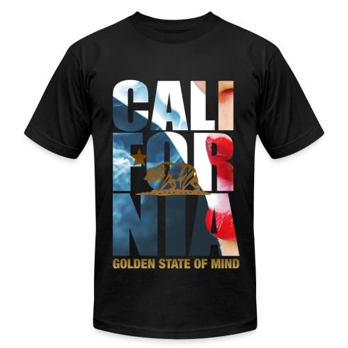 California Tha Life  - Men's Fine Jersey T-Shirt