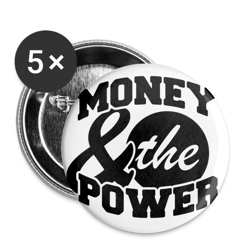 Money and The Power Buttons - Large Buttons