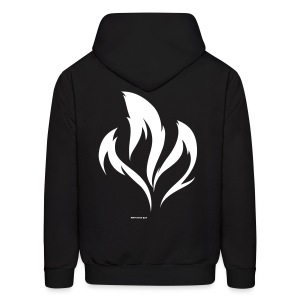 Three-Tailed Kitsune  - Men's Hoodie