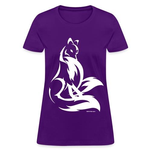 Shy Kitsune - Women's T-Shirt