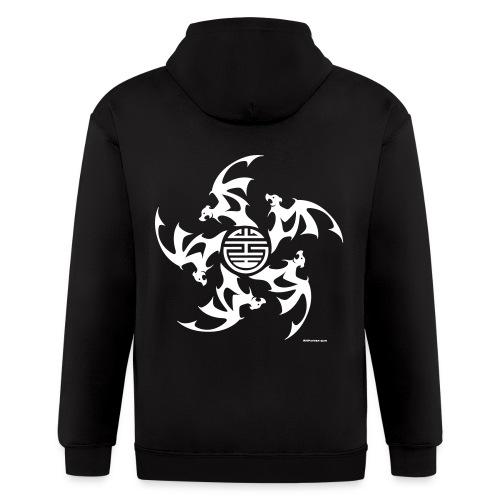 Wu Fu Lucky Bats - Men's Zip Hoodie