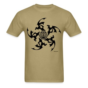 Wu Fu Lucky Bats - Men's T-Shirt