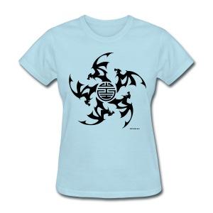 Wu Fu Lucky Bats - Women's T-Shirt