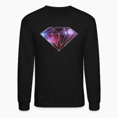 Galaxy Diamond Sweatshirt by Skytop
