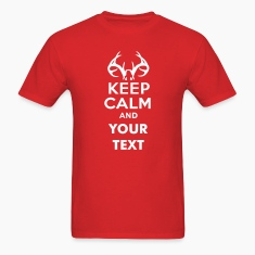 keep_calm_and_deer_hunt_text T-Shirts