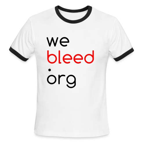 Men's webleed.org ringer t - Men's Ringer T-Shirt