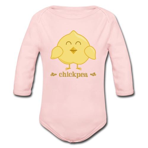 CHICKpea Baby Long Sleeve   - Organic Long Sleeve Baby Bodysuit