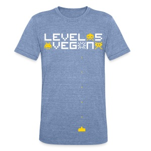 Level 5 Vegan Men's Tee - Unisex Tri-Blend T-Shirt by American Apparel